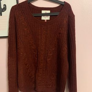 SO | the perfect pullover chunky sweater